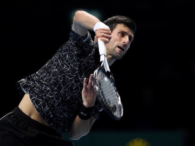 Result: Novak Djokovic shows no signs of slowing up in London