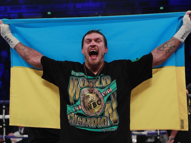 Oleksandr Usyk sets sights on Anthony Joshua after Dereck Chisora victory