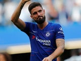 Olivier Giroud in action for Chelsea on September 15, 2018