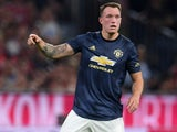Phil Jones in action for Manchester United on August 5, 2018