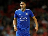 Vicente Iborra in action for Leicester City on August 10, 2018
