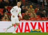 Wayne Rooney in action for England in the international friendly with USA