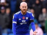 Aron Gunnarsson in action for Cardiff City in November 2018