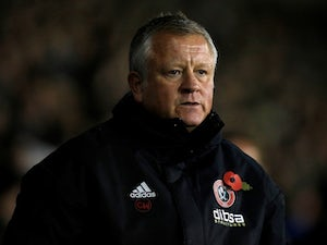 Sheffield United manager Chris Wilder pictured in November 2018