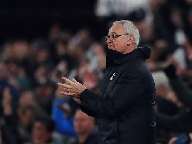 Claudio Ranieri in charge of Fulham on November 24, 2018