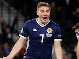 James Forrest completes his hattrick for Scotland on November 20, 2018