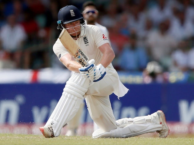 Jonny Bairstow hits century as England make promising start