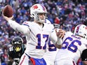 Buffalo Bills quarterback Josh Allen on November 25, 2018