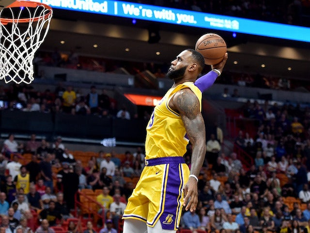 Result LeBron James scores 51 points to lead Los Angeles Lakers past Miami  Heat