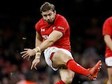 Leigh Halfpenny in action for Wales on November 10, 2018