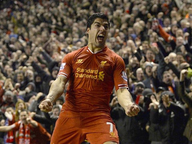 Luis Suarez for Liverpool