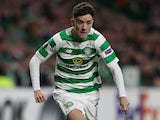 Mikey Johnston in action for Celtic in the Europa League on September 20, 2018