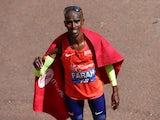 Mo Farah finishes third at the London Marathon on April 22, 2018