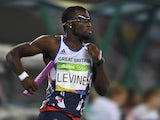 Team GB's Nigel Levine in action at the Rio Olympics in August 2016