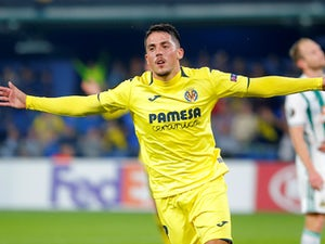 Pablo Fornals in action for Villarreal in the Europa League on October 25, 2018