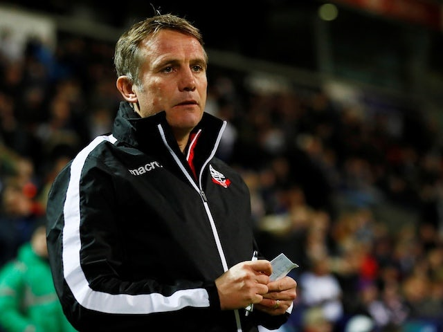 Phil Parkinson in charge of Bolton Wanderers