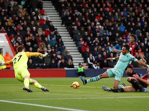Aubameyang goal earns Arsenal win at Cherries