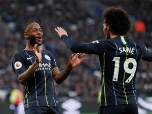 Man City ease to win at West Ham