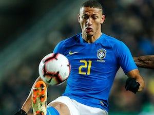 Richarlison in action for Brazil on November 20, 2018