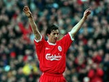 Robbie Fowler for Liverpool in 1998