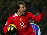 Ruud van Nistelrooy for Manchester United