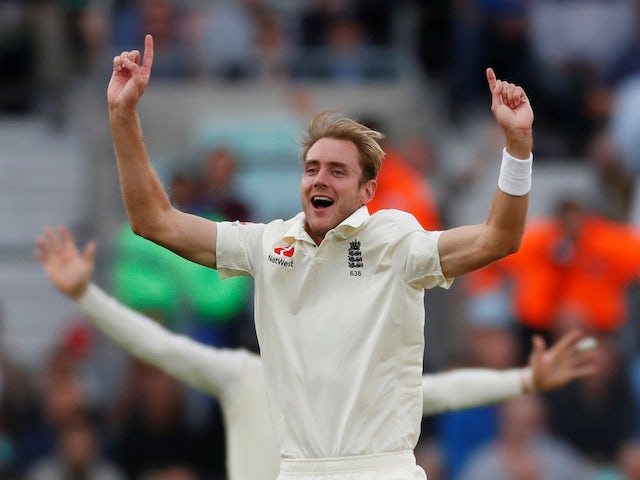 Result: Stuart Broad claims hat-trick as England bowlers shine in Barbados