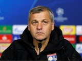 Lyon manager Bruno Genesio ahead of his side's Champions League clash with Manchester City on November 26, 2018