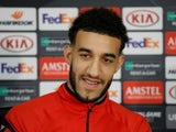 Connor Goldson during a Rangers press conference on November 7, 2018