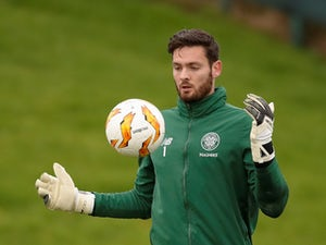 Craig Gordon urges Vasilis Barkas to shut out Celtic scrutiny