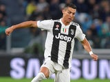 Cristiano Ronaldo in action for Juventus on November 3, 2018