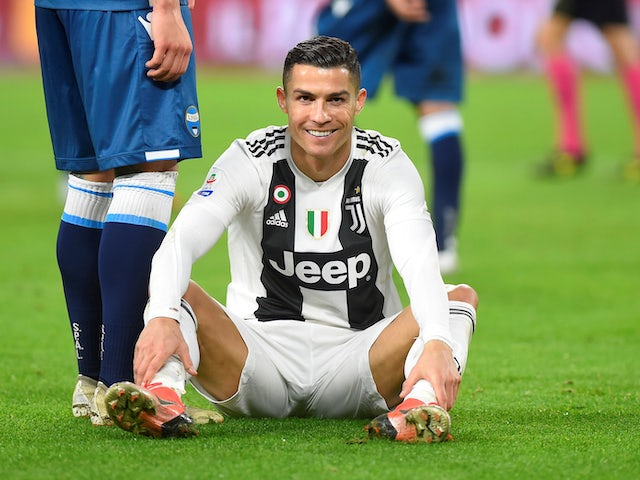 Cristiano Ronaldo in action for Juventus on November 24, 2018