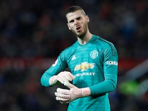 David de Gea in action for Manchester United on November 24, 2018