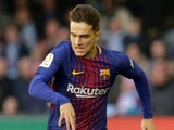 Denis Suarez in action for Barcelona in April 2018