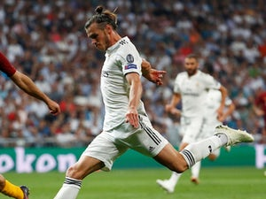 Gareth Bale in action for Real Madrid in the Champions League on September 19, 2018