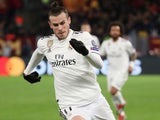 Gareth Bale in action for Real Madrid in the Champions League on November 27, 2018
