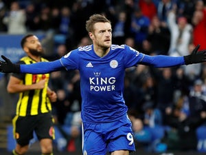 Leicester striker Jamie Vardy to return for Chelsea clash