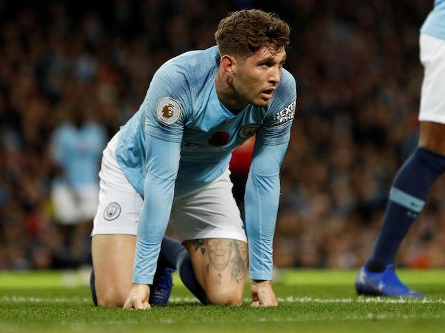 John Stones in action for Manchester City on November 11, 2018