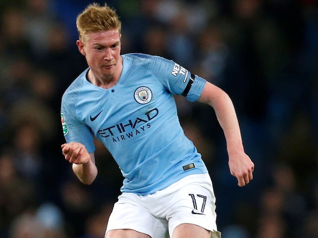 brand new a14c7 39e88 Kevin De Bruyne injury could help Manchester City in long ...