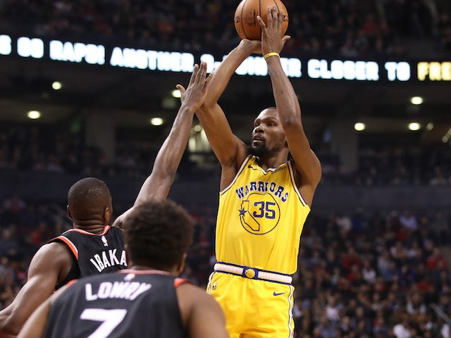 Result: Kevin Durant's 51-point haul still not enough as Raptors down Warriors