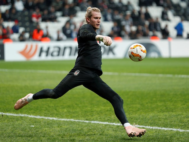 Loris Karius 'wants to stay at Besiktas'