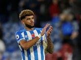 Philip Billing in action for Huddersfield Town on November 10, 2018