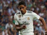 Raphael Varane in action for Real Madrid on September 29, 2018