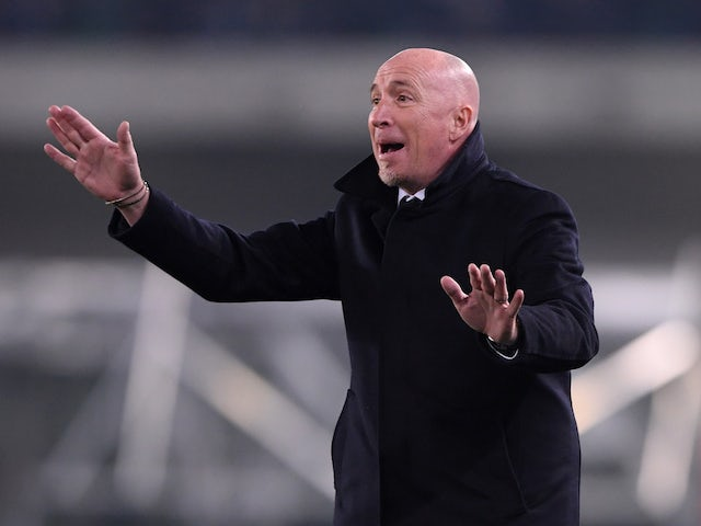Cagliari manager Rolando Maran