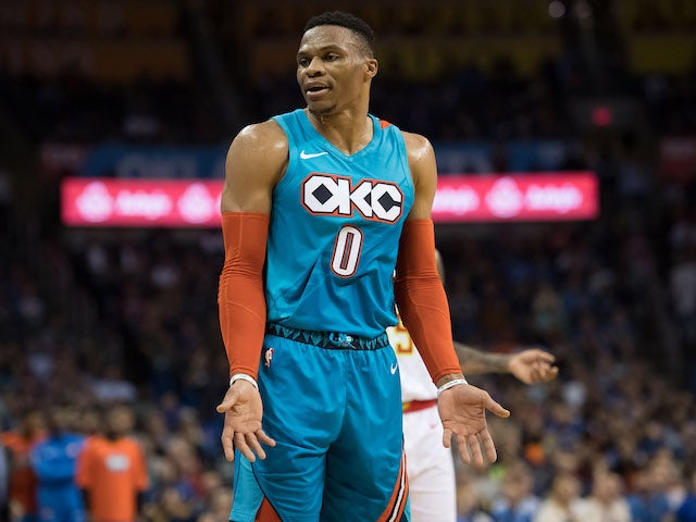 timeless design 5c62c 3baee Result: Russell Westbrook leads Oklahoma City to huge ...