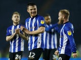 Sheffield Wednesday players celebrate after beating Bolton Wanderers on November 27, 2018