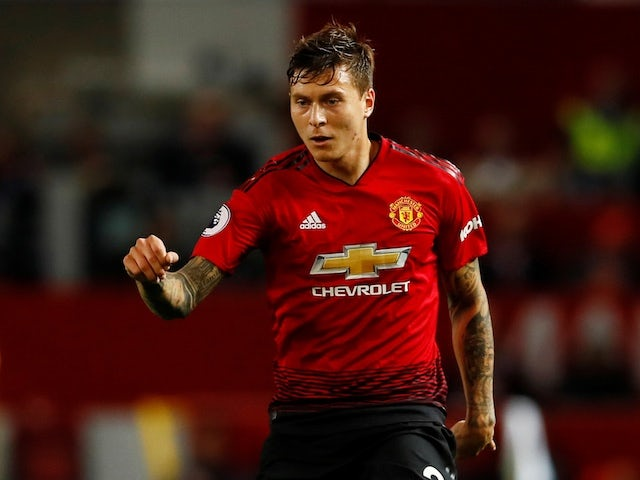 Victor Lindelof for Manchester United in August 2018