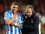 Abdelhamid Sabiri comes off injured for Huddersfield Town on December 4, 2018