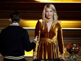 Ada Hegerberg endures an awkward exchange from Martin Solveig at the Ballon d'Or on December 3, 2018
