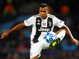 Alex Sandro in action for Juventus on October 23, 2018