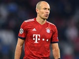 Arjen Robben in action for Bayern Munich in the Champions League on November 27, 2018